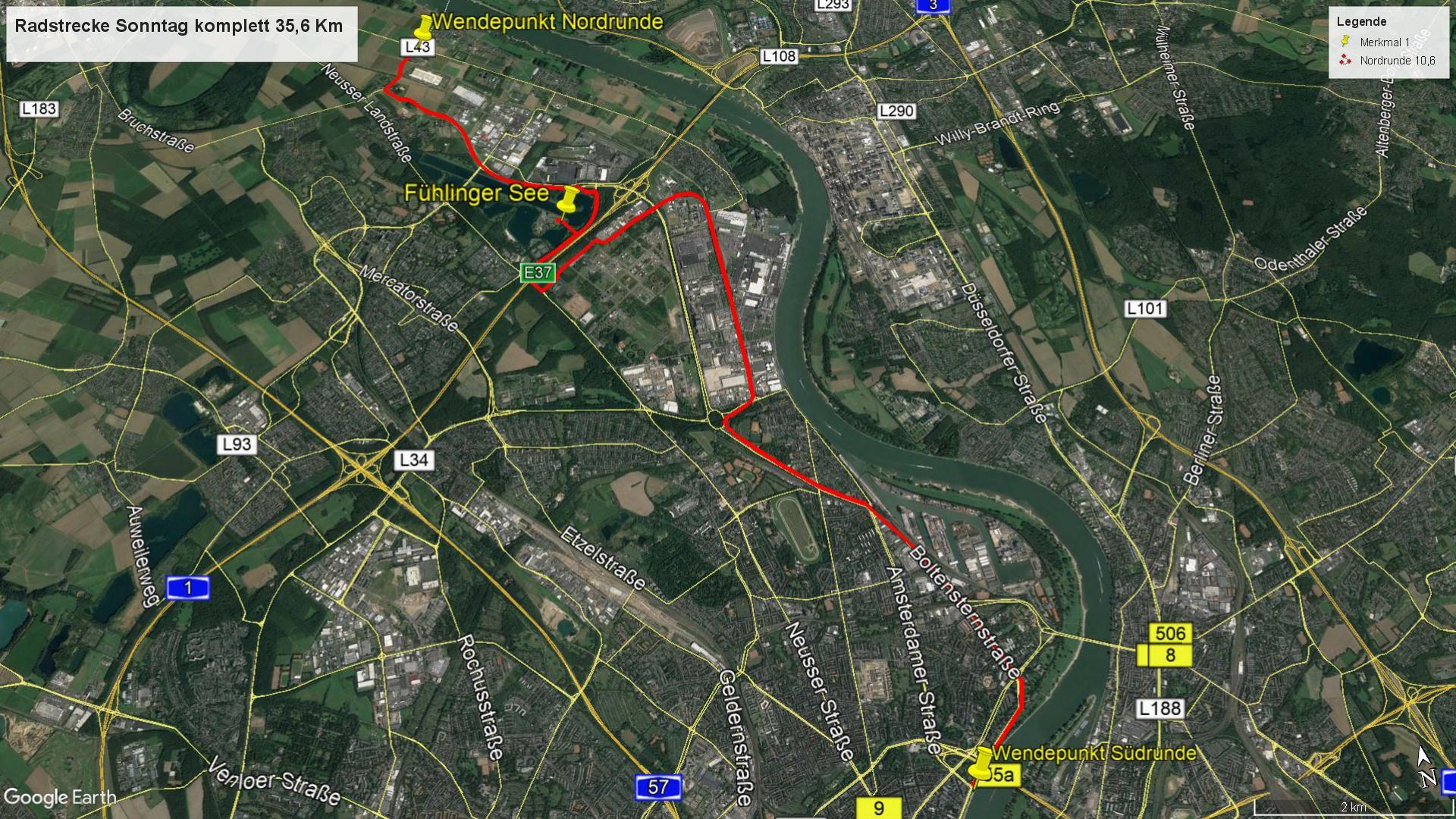 Cologne Triathlon weekend: Cologne226 Course Description